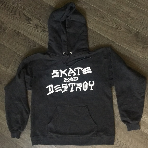 62a8415fb218 Thrasher skate and destroy hoodie. M 5b4e729c0cb5aa79c17a4dff